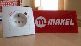 Розетки Makel с сетевым фильтром
