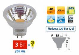 Светодиодные лампы точечного света Uniel MR11
