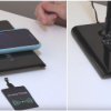 ЭРА представляет настольный светильник с функцией беспроводной зарядки гаджетов