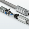 Технология контакта Push-lock в разъемах M12 Power
