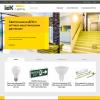 Новый сайт iek.lighting – вся светотехника IEK® в удобном формате