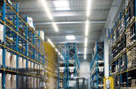Требования к освещению складов: уровень освещенности и осветительные приборы