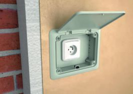 Электротехнические фасадные системы