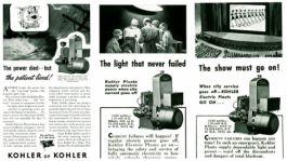 100 лет триумфа KOHLER Power: 1940-е годы – генераторные установки как основной и резервный источник электроэнергии для спасения человеческих жизней