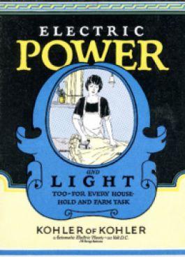 100 лет триумфа KOHLER Power: 1920-е годы – рождение и мгновенный успех энергетического бизнеса