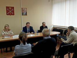 Дмитрий Смолин на совещании с Правительством Санкт-Петербурга о поставке светодиодных светильников для нужд города