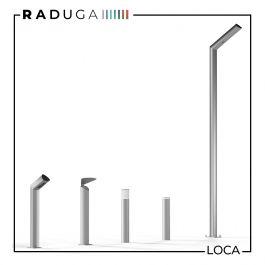 Новинка! «LOCA» – это серия светодиодных садово-парковых светильников для создания утилитарного, а также декоративного наружного освещения