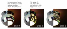 Светильники ЭРА с голографическим 3D стеклом