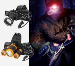 Два новых мощных налобных фонаря ЭРА - GA-806 и GA-809