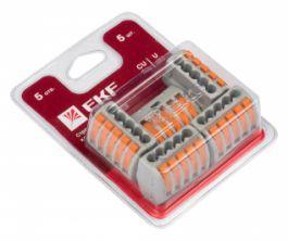 Клеммы EKF СМК 222 в новой блистерной упаковке