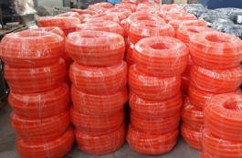 Новинка EKF – оранжевая гофротруба ПНД повышенной прочности