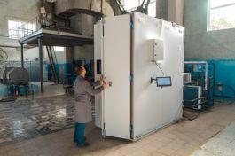 Новая климатическая камера в испытательном центре АО «Контактор» (бренд Группы Legrand) .