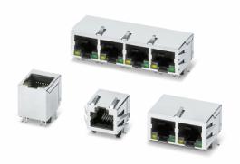 RJ45 на печатную плату: промышленные Ethernet-разъемы