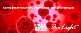 Ультрафиолетовые UVC-светодиоды для дезинфекции
