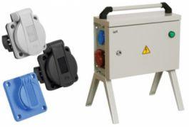Панельные розетки с крышкой серии MAGNUM IEK® - надежное электроснабжение в сложных условиях