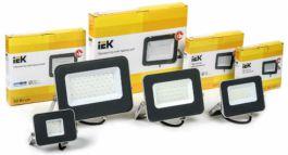Модернизированные светодиодные прожекторы СДО 07 IEK® - 50 000 часов эффективной работы