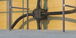 Монтажные коробки IEK® - надежное решение для монолитного домостроения
