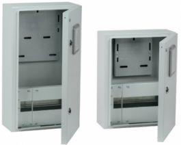 Корпуса металлические ЩУРН IP54 IEK® с окном - для защиты оборудования и учета показаний счетчика