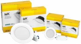Новая серия даунлайтов ДВО PRO IEK® - повышенная надежность и рекордная эффективность