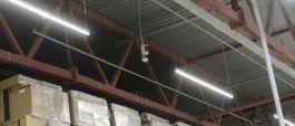 Новая система освещения ОСК «Щербинка» – расходы на электроэнергию сократятся на 85 процентов!