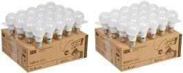 Популярные светодиодные лампы IEK® в ЖКХ-упаковках по 20 шт. Выгодная цена!