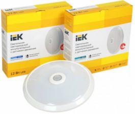 Светодиодные светильники ДПБ 9001-9004 IEK® – инфракрасный датчик движения и аккумуляторная батарея