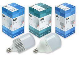 Новинки в ассортименте LED-ламп HP IEK®: до 100 Вт мощности