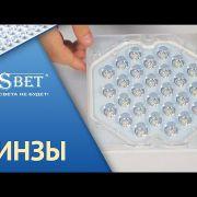 Светодиодное освещение компании SDSBET |  Видео обзор | Линзы [SDSBET]