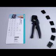 Embedded thumbnail for Универсальные обжимные клещи CRIMPFOX-M от Phoenix Contact
